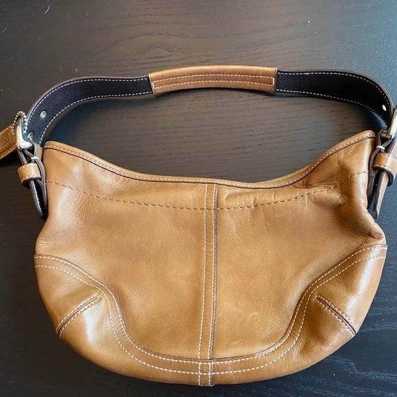 Coach Handbags - Coach Camel Mini